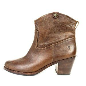 Frye Jolene Pull On Short Boots
